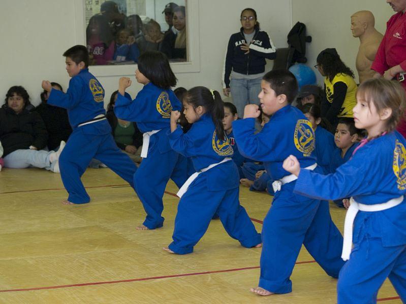 Aktywność fizyczna dzieci - karate
