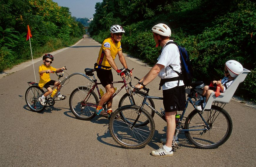 Aktywność fizyczna dzieci - wycieczka rowerowa