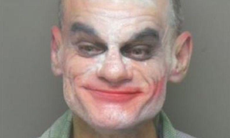 Joker zatrzymany. Groził masakrą i relacjonował wszystko na Facebooku