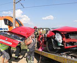 Pogrzeb 18-latki, która zginęła na przejeździe kolejowym w Szaflarach