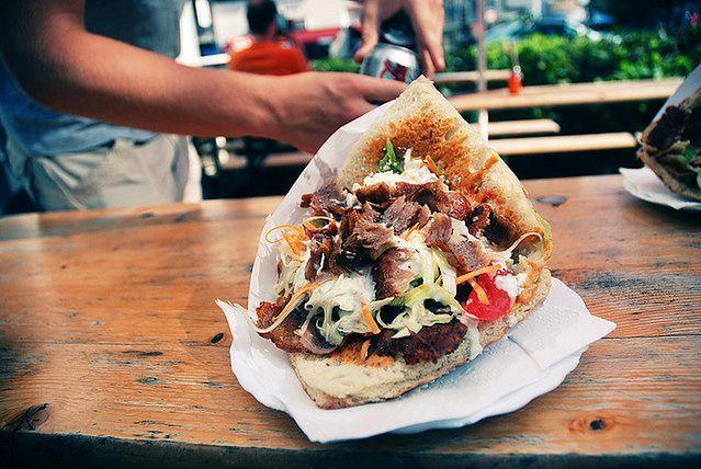 Kebab vs sałatka warzywna