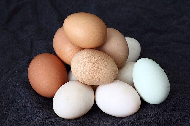 Jajka - źródło antyoksydantów