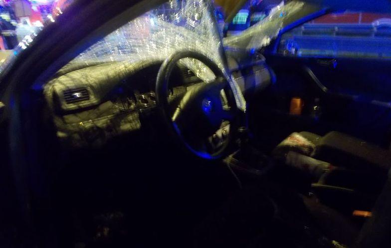 Gliwice. Policjant zginął, kiedy jeleń uderzył w auto