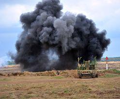 Ostre strzelanie rakietowe w Ustce. Dragon-17