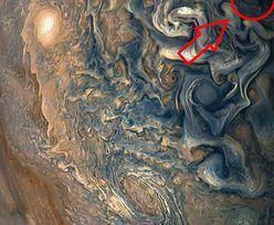 Niesamowite zdjęcie Jowisza sondy Juno