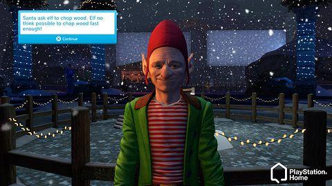 Ho, ho, ho - Święty Mikołaj potrzebuje Twojej pomocy w Home