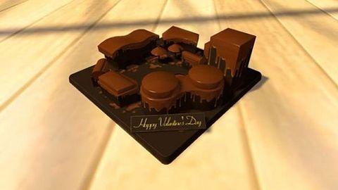 Walentynki na czekoladowo w azjatyckim Home