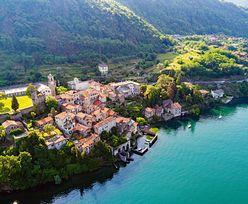Włochy. Corenno Plinio nad jeziorem Como to jedno z piękniejszych miast. Turyści będą płacić za wstęp