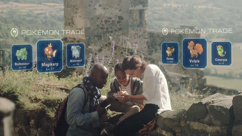Dwa lata później: w Pokémon Go pojawia się opcja wymiany stworków z innymi graczami