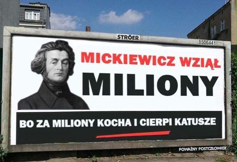 Wojna billboardowa w pełnym rozkwicie