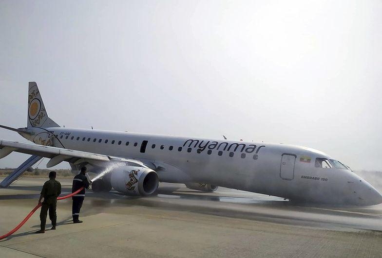 Brawurowe lądowanie w Mjanmie. Pilot uratował życie pasażerów i załogi