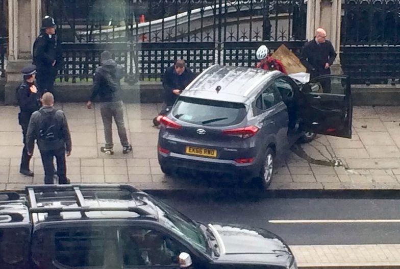 Radosław Sikorski świadkiem zamachu w Londynie