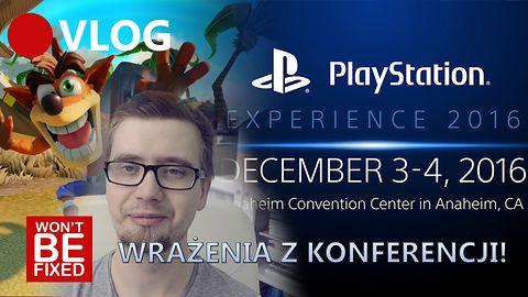PlayStation Experience 2016 - Podsumowanie konferencji Sony - VLOG