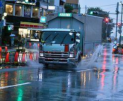 Tajfun Lan uderzył w Japonię. Dwie osoby nie żyją, blisko sto jest rannych