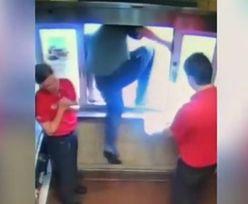 6-latek zaczął się dusić. Pracownik fast foodu uratował mu życie