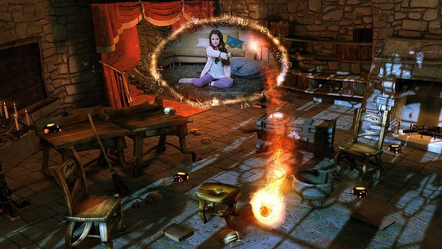 Wonderbook - obrazy z gry