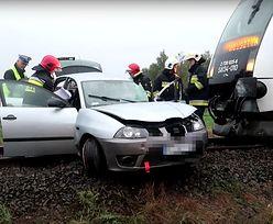 Wolsztyn. Wypadek na przejeździe kolejowym. Wśród rannych dziecko