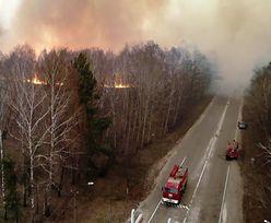 Czarnobyl. Pożar w Strefie Wykluczenia przybiera na sile