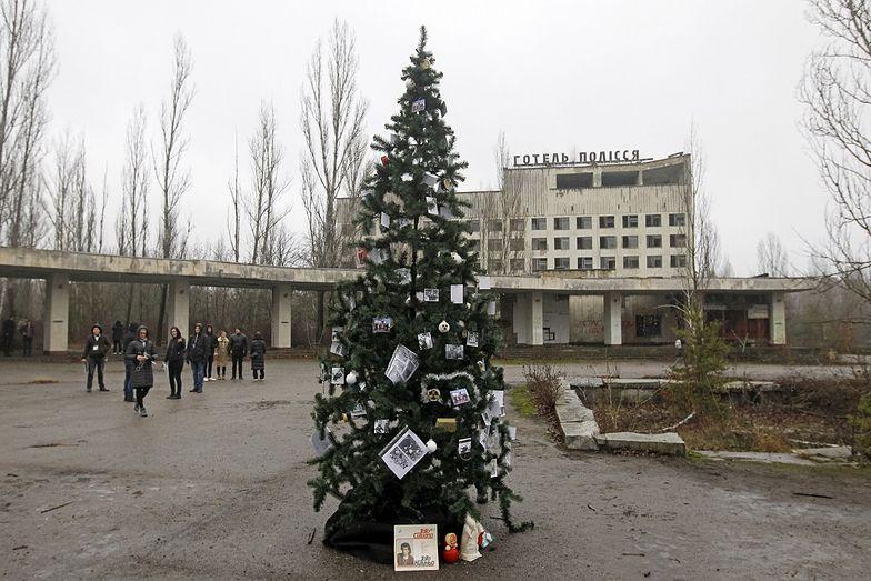 Czarnobyl był 33 lata temu. Dopiero teraz postawili pierwszą choinkę