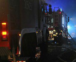 Tragiczny pożar w Starogardzie Gdańskim. Nie żyją dwie osoby