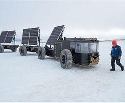 Samochód z plastikowych butelek przejedzie przez Antarktydę