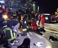 Tragedia we włoskim klubie. 6 osób nie żyje, ok. 120 rannych