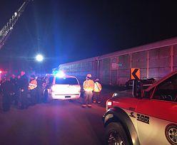 Katastrowa kolejowa w USA. 2 osoby nie żyją, a kilkadziesiąt jest rannych