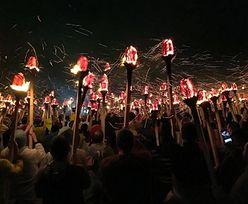 Wikingowie świętują pełną gębą. Zobacz festiwal ognia