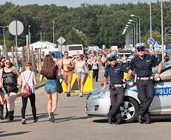 82 przestępstwa, 60 zatrzymanych i próba gwałtu. Policja podsumowuje pierwsze dni Woodstocku