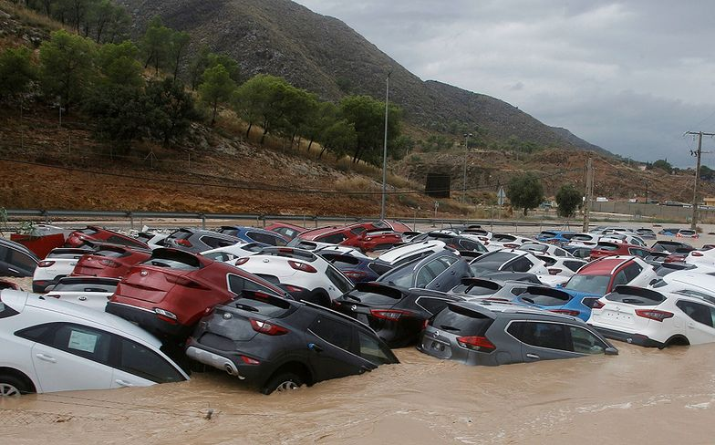 Hiszpania. Woda zalała tunel w kilka minut. Trzy ofiary powodzi