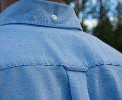 Do czego służy pętelka z tyłu męskiej koszuli? Odpowiedź naprawdę zaskakuje