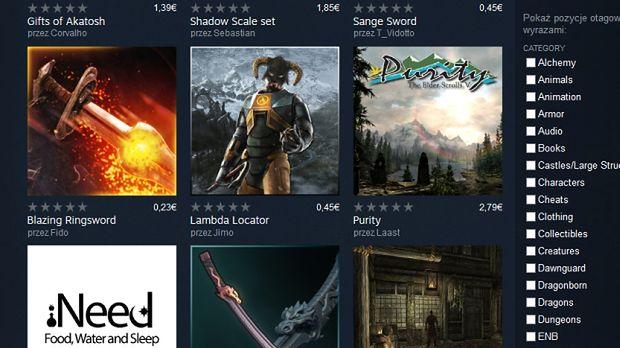 Tworzysz modyfikacje do gier? Od dziś możesz sprzedawać je na Steamie