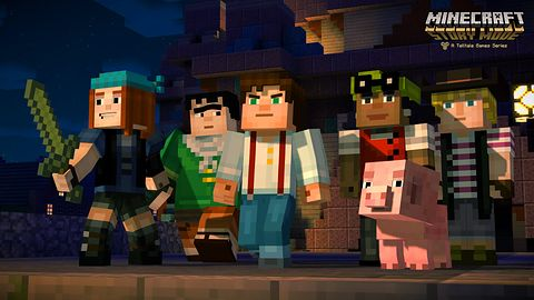 Minecraft przekracza ostatnią granicę, Story Mode trafi na Wii U
