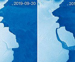 Odłamała się góra lodowa 5 razy większa od Malty. Ale nie przez zmiany klimatu