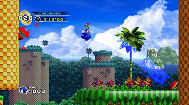 Sto procent Sonica w Sonic The Hedgehog 4