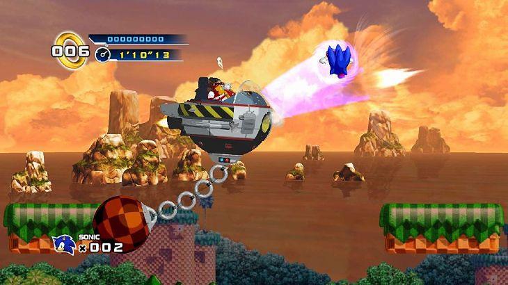 Sonic The Hedgehog 4 w obrazkach