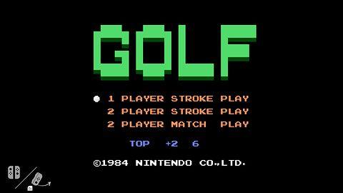 """NES Golf głęboko """"zaszyty"""" w każdym Switchu. Stareńka gra wspiera kontrolery ruchowe"""