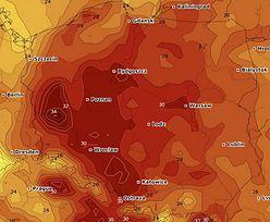 Upiorne temperatury i żar z nieba. Na 32 st. C się nie skończy