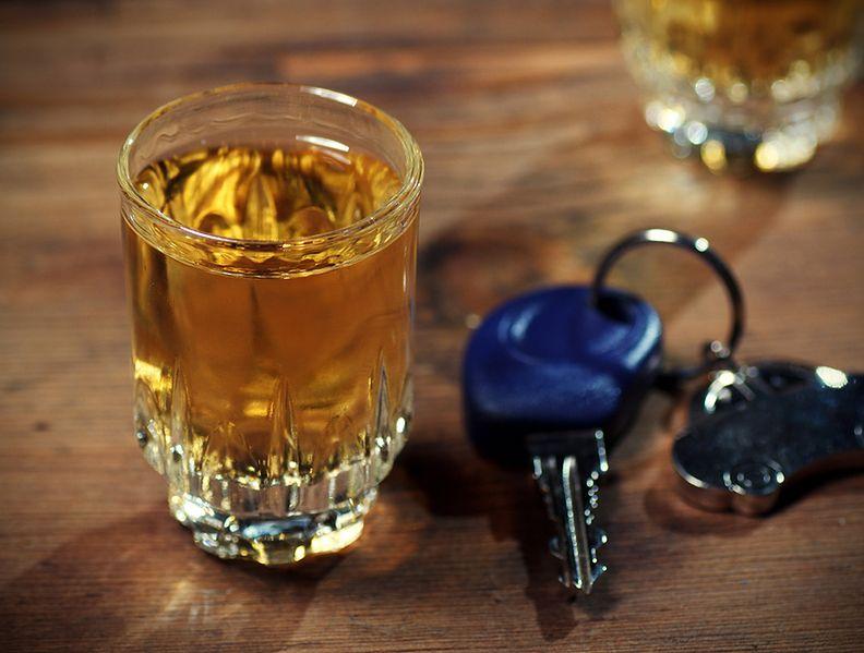 Prowadzenie auta po 1 drinku