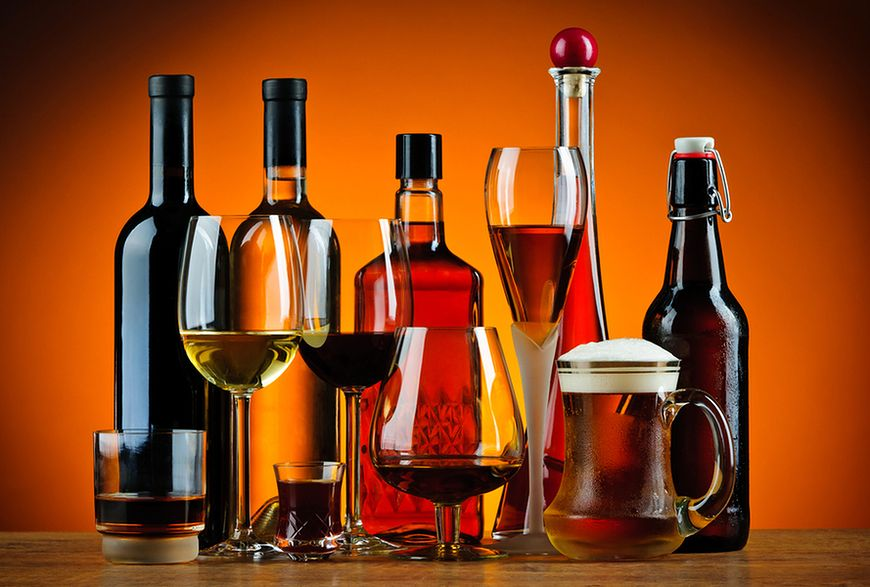 Popularność alkoholu