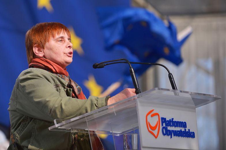 Janina Ochojska startuje w tym roku w wyborach do PE