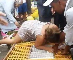 Rozwścieczona turystka pogryzła sprzedawcę. Wideo obejrzały miliony ludzi