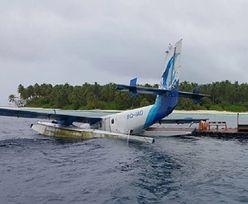 Samolot z polskim turystą rozbił się na wodzie. Piloci uciekli do brzegu