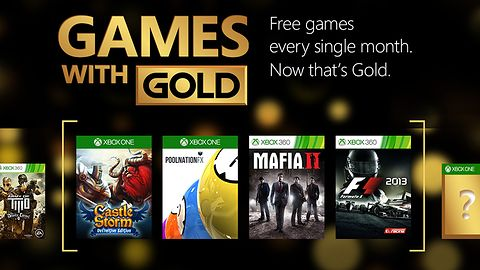 A majowy zestaw Games with Gold to: Mafia 2, CastleStorm, Pool Nation FX oraz F1 2013