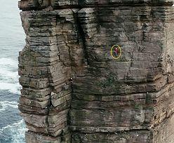 Wspiął się na 137-metrową skalną kolumnę. Niewidomy ustanowił rekord