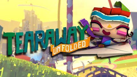 Krótka piłka: papierki w Tearaway Unfolded zaszeleszczą na PS4 we wrześniu