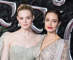 Angelina Jolie i Elle Fanning. Porównała ją do mamy