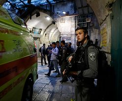 Nożownik zaatakował w Jerozolimie. Padły strzały