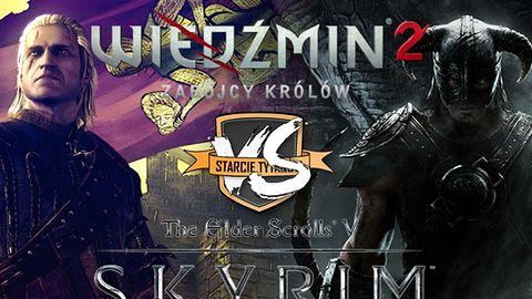 Starcie tytanów: Wiedźmin 2 kontra The Elder Scrolls V: Skyrim [WYNIKI]