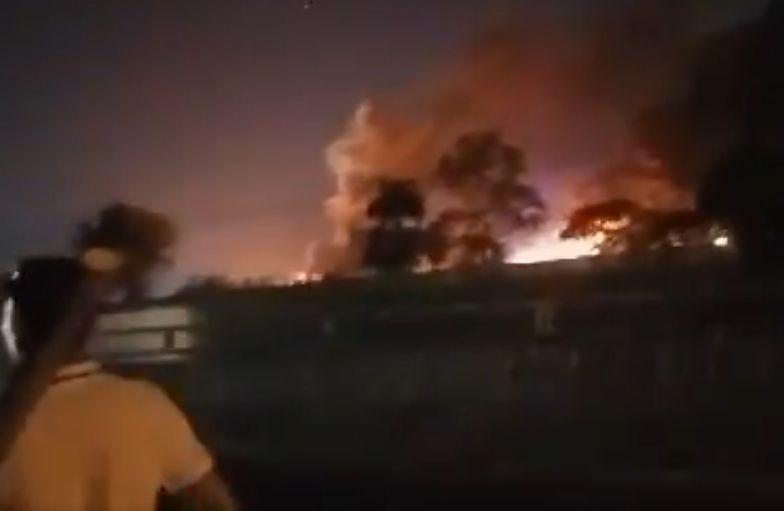 Filipiny. Samolot z osobami na pokładzie zapalił się na lotnisku w Manili.